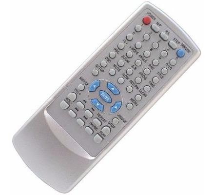 Controle Remoto Dvd Excess Edvd-1001m Edvd-1004m Edvd-1008