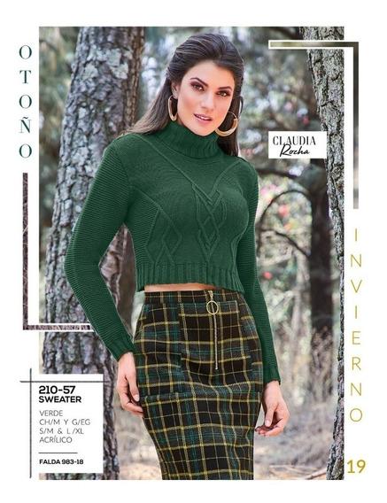 Falda Negro Multicolor 983-18