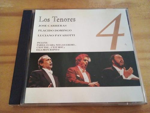 Los Tenores 4 - Carreras - Domingo - Pavarotti - Cd - U