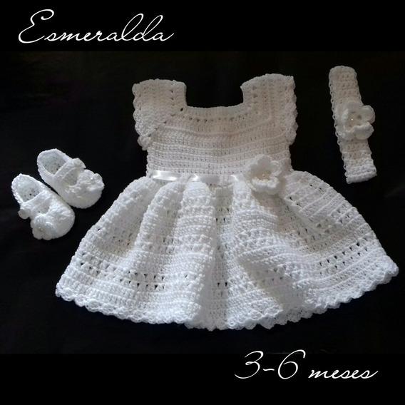 Vestidos De Bebe A Crochet Para Bautizo Anti Feixista