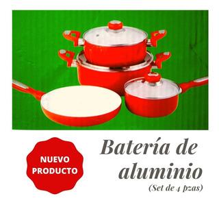 Batería De Cocina Aluminio-loft Orange (7 Pzas)
