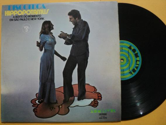 Lp Discoteca Hippopotamus Volume 3- 1976- Frete 15,00