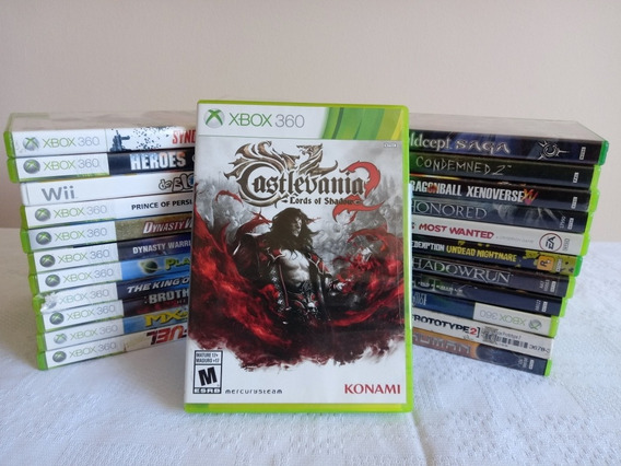 Castlevania Lords Of Shadows 2 Xbox 360 Legendado