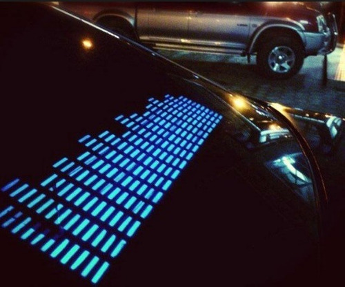 Kit Ecualizador Sonido Led 11x45 -  Sound Car Music Sticker
