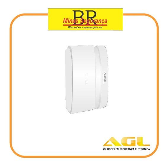 Sensor Magnético Wifi Agl Para Central Alarme Agl Wifi