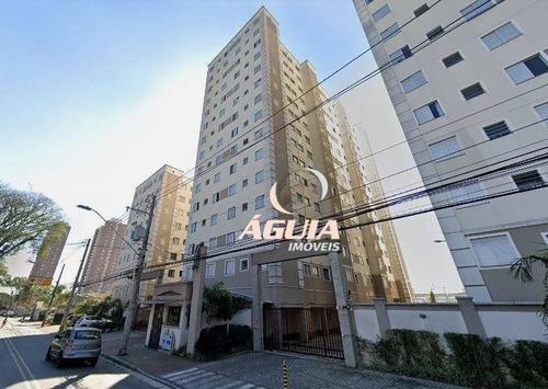 Imagem 1 de 12 de Apartamento Com 2 Dormitórios À Venda, 48 M² Por R$ 286.000,00 - Vila Homero Thon - Santo André/sp - Ap2482