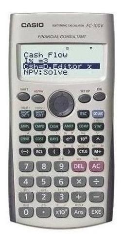 Calculadora Financiera Casio Fc-100v Relojesymas