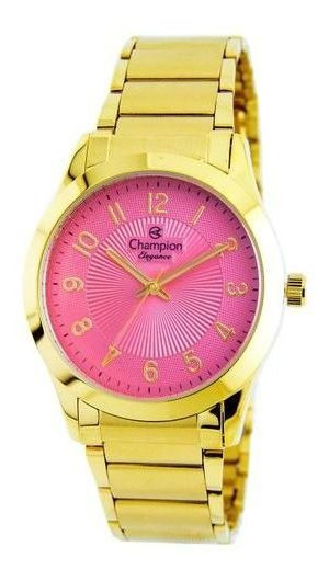 Relógio Champion Elegance Feminino Rosa