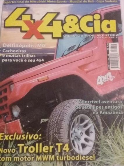 Revista 4x4 N 89 Raridade Tudo Sobre Novo Troller T4 Barbada