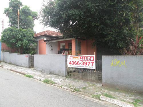 Casa Terrea No Bairro Rudge Ramos, Em Sao Bernardo Do Campo Com 02 Dormitorios - V-26010