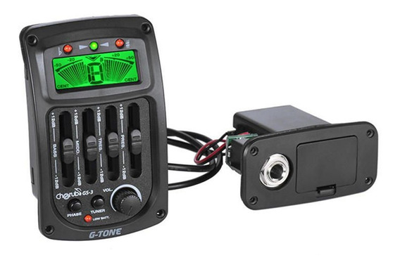 Micrófono Ecualizador Guitarra Cherub Gs-3 Acústica Clásica