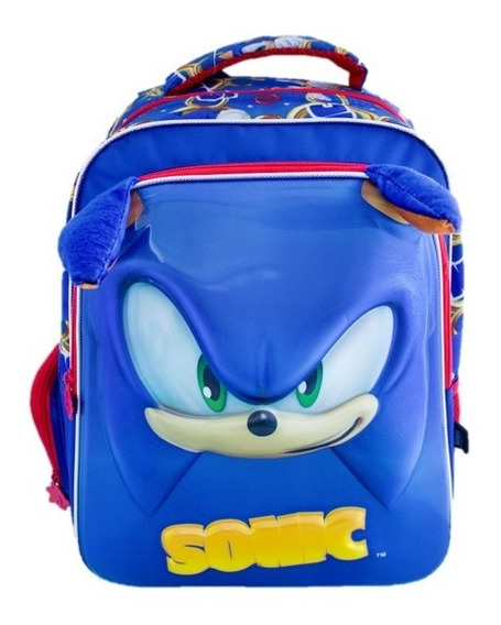 Mochila Sonic Kinder Backpack Mm550