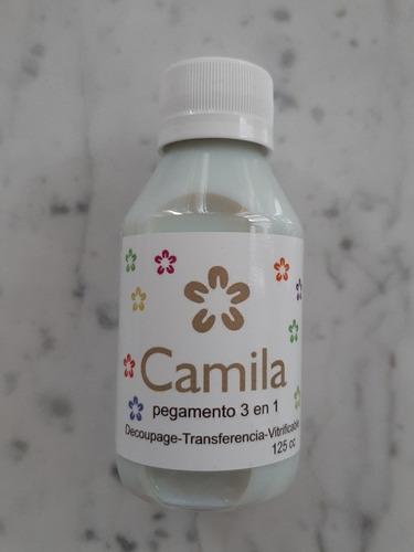 Camila Pegamento Decoupage Transferencia Vitrificable 3 En 1