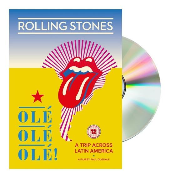 Dvd Rolling Stones Olé Olé Olé: A Trip Across Latin America