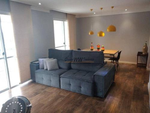 Imagem 1 de 17 de Apartamento À Venda, 104 M² Por R$ 855.000,00 - Lauzane Paulista - São Paulo/sp - Ap3158