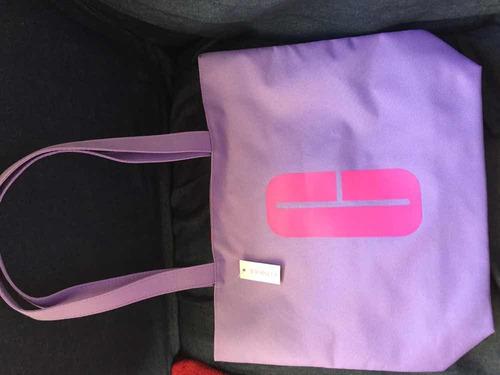 Tote Bag Cartera De Clinique Reversible - Ultima Temporada