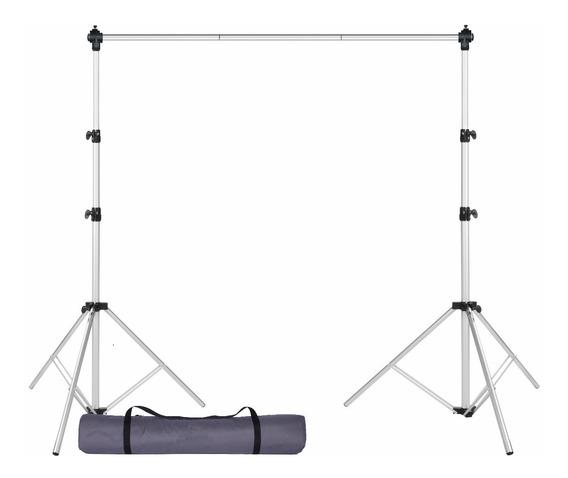 Suporte Para Fundo Fotográfico Com Bolsa A2,40m L3,00m