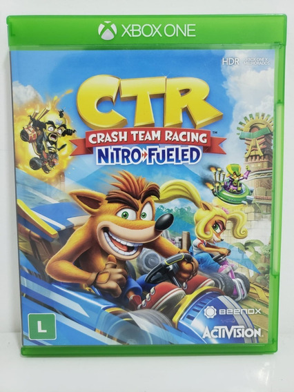 Crash Team Racing Ctr Xbox One Fisico Seminovo Português