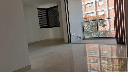 Studio Com 43m² E 2 Vagas De Garagem Em Pinheiros! - Eb87323