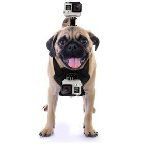 Uporte Cachorro Canino Regulável Driftin P/ Câmeras Gopro .