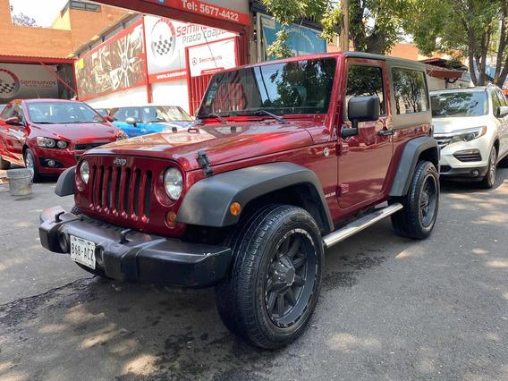 Jeep Wrangler Sport X 4x4 2013 Factura Original Impecable