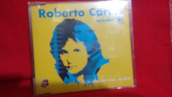 Cd Single Roberto Carlos Eu Te Amo Te Amo Te Amo-acústico