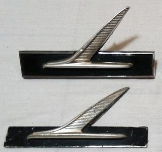 Insignia De Guardabarro De Ford Falcon Del 66 Al 69