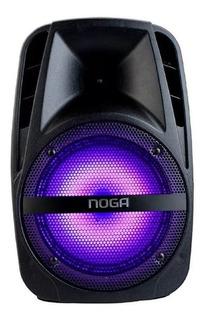 Parlante Portátil Bluetooth Karaoke Bateria Microfono Fm25
