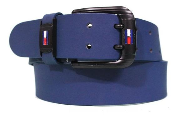 Cinturon Tommy En Cuero