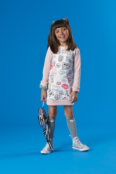 Vestido Infantil Kukie Magic