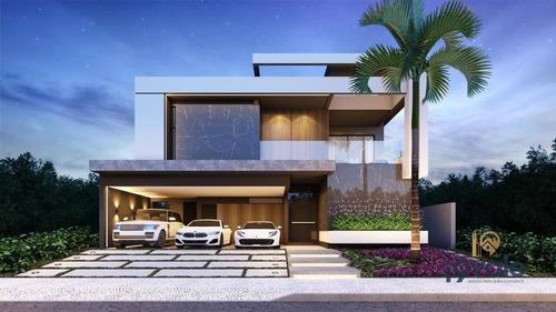 Casa De Luxo 5 Suítes À Venda, 440 M² Com Piscina E Sauna No Jardim Do Golfe 3 Em Sjcampos/sp - Ca1844