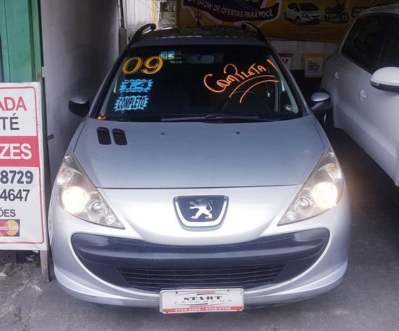 Peugeot 207 Sw 2009 1.4 Xs Completa + Òtimo Estado!financia