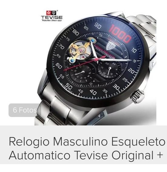 Relogio De Pulso Masculino Automatico Original Frete Gratis