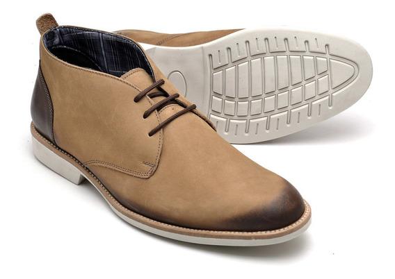 Sapato Oxford Masculino Em Couro De Amarrar 38