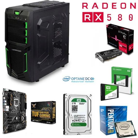 Computador Gamer Intel 8º Geração Ssd + 2 Tera Hd