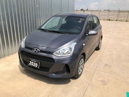 Imagen 1 de 15 de Hyundai Grand I10 2020 5p Gl Mid L4/1.2 Premium Man