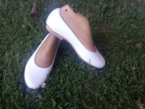 Zapatos Novia Chatitas Casamiento Comunion Fiesta Ballerina
