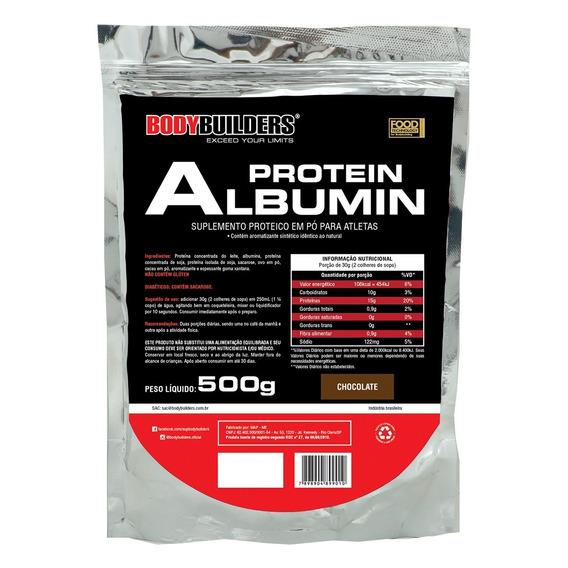 Albumina Protein 500g - Parcelamento Sem Juros!