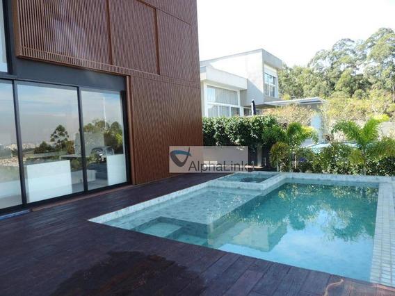 Linda Casa 4 Suítes 700 M² De Construção - Tamboré 11 - Santana De Parnaíba - Ca0861
