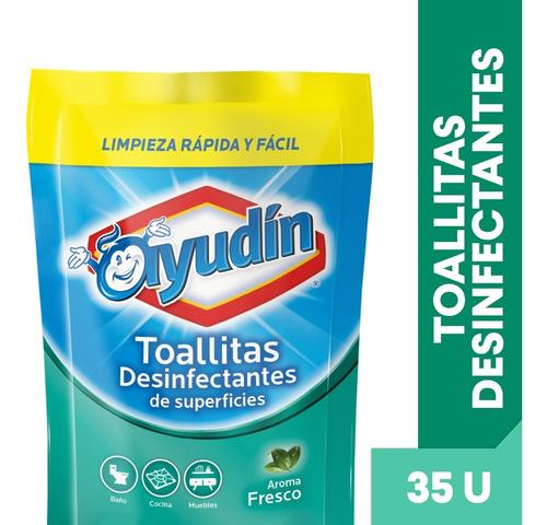 Ayudin Toallitas Desinfectantes Doy Pack Fresco