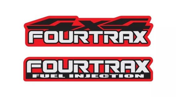 Acessórios Adesivo Carenagem Fourtrax Honda 420 Quadriciclo