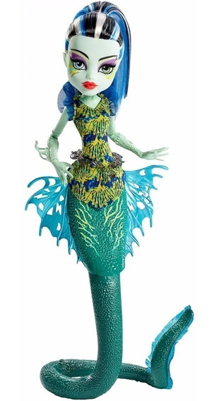 Monster High Frankie Stein Assustadora Barreira De Coral