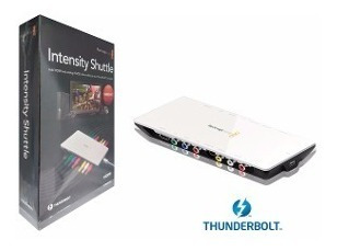 Placa Captura Blackmagic Intensity Shuttle Thunderbolt P/mac