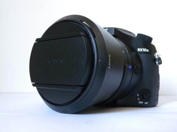 Câmera Sony Rx3 Iii Mk3 24-600mm Zoom 4k Profissional Top Sp