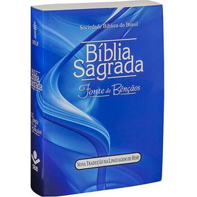 Bíblia Sagrada Letra Maior Cheia De Bênçãos