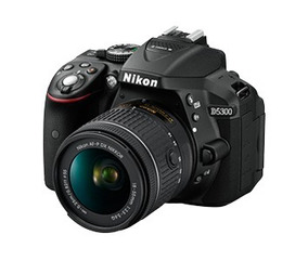 Câmera Nikon D5300 + Cartão De 32gb + Bolsa + Acessórios