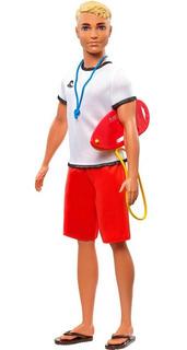 Muñeco Ken Salvavidas Barbie Mattel