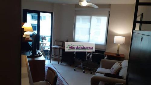 Flat Com 1 Dormitório Para Alugar, 39 M² Por R$ 1.750,00/mês - Jardim Paulista - São Paulo/sp - Fl0008