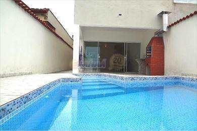 Casa Em Mongagua, Piscina, Sobrado 3 Dorms - V4603