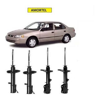 4 Amortecedor Toyota Corolla Dianteiro/traseiro 92 Até 02